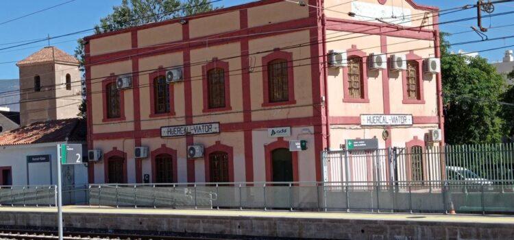 Qué ver en Huércal de Almería: la estación de tren de Huércal.   Tito Sánchez Núñez/QVEA