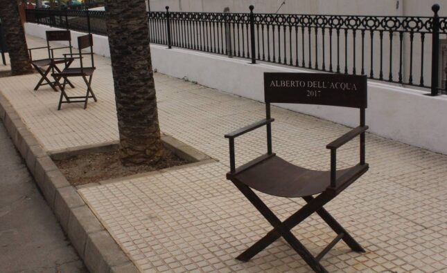 Paseo del Cine de Tabernas.   Javier Cortés/QVEA